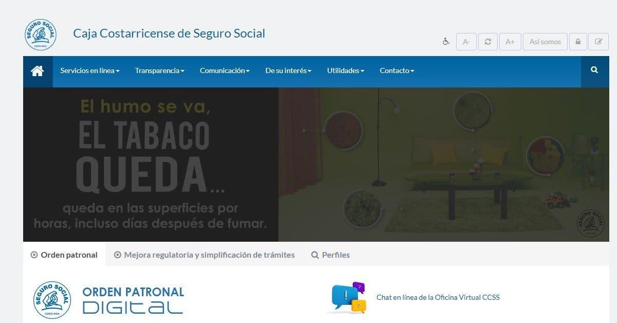 Sitio web de la Caja logra segundo lugar en ranking de calidad