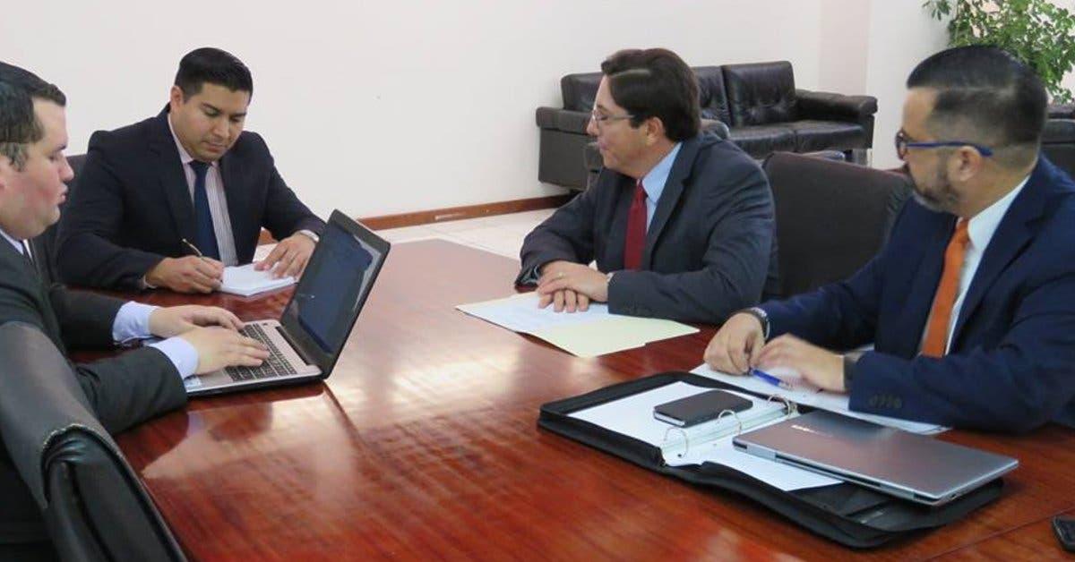 Ministro de Trabajo se reúne con jerarcas de Camtic
