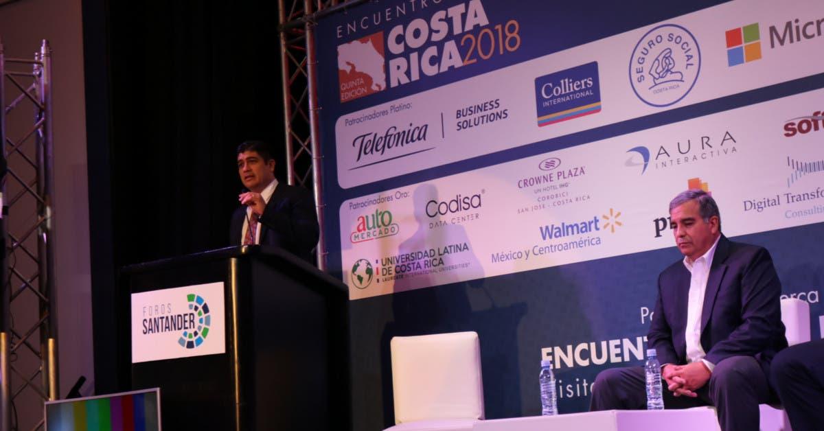 Carlos Alvarado: Costa Rica debe conversar sobre transformación digital