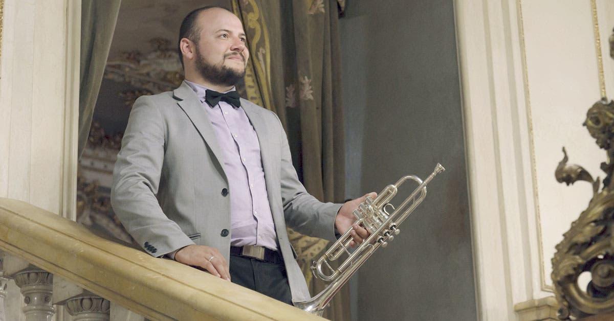 Trompetista tico rinde homenaje a grandes compositores