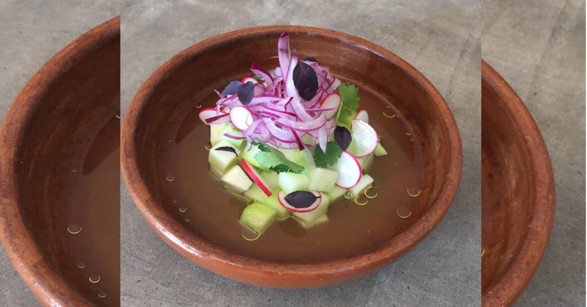 Restaurante Al Mercat: Ceviche de Chayote