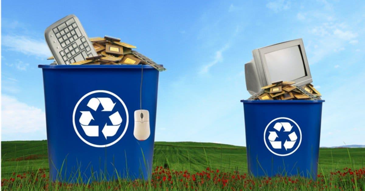 Ayude al planeta y participe de esta campaña de reciclaje tecnológico