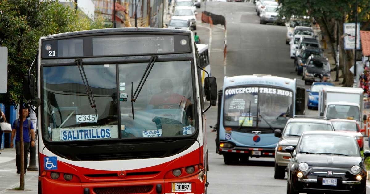 Autobuses son los que menos contaminan en el sector de transportes
