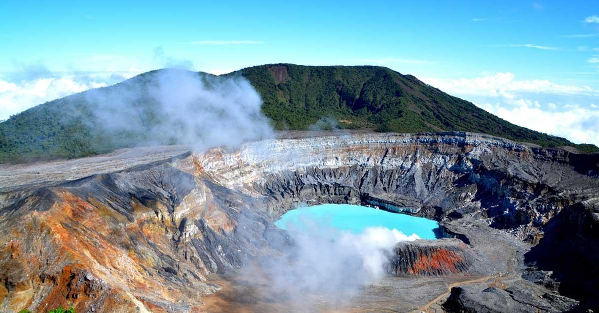 Avanza proceso de reapertura del volcán Poás