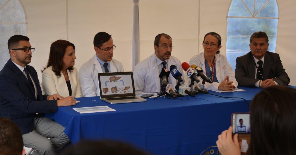 Costa Rica logra hito en trasplante: un solo hígado fue donado a niña y mujer