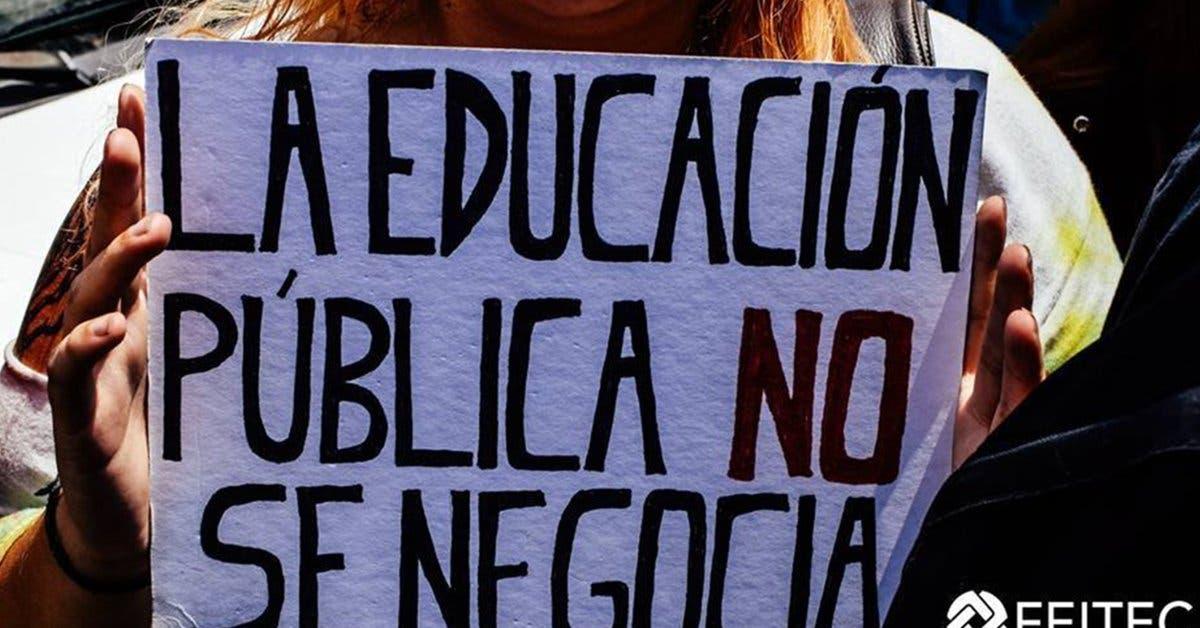 Confederación Estudiantil defenderá FEES pese a situación fiscal