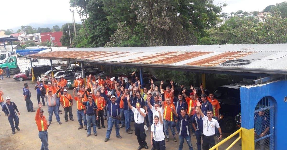 Trabajadores municipales levantan huelga en Goicoechea