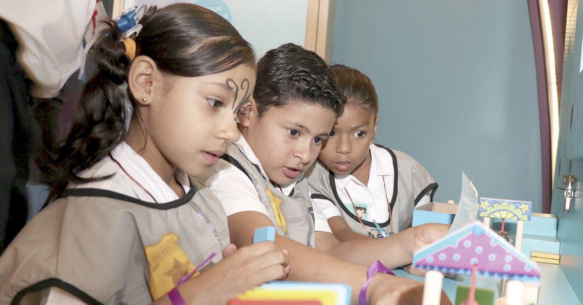Nueva sala del Museo de los Niños reta a menores y previene consumo de drogas