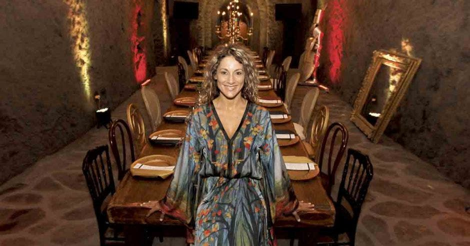 Mariela Abarca de gastronomía clandestina.