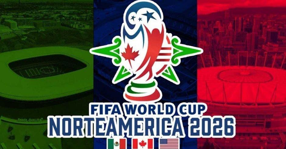 Logo oficial del Mundial Norteamérica 2026