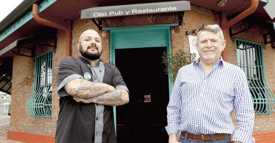restaurante Olio en Escalante, con chef y propietario