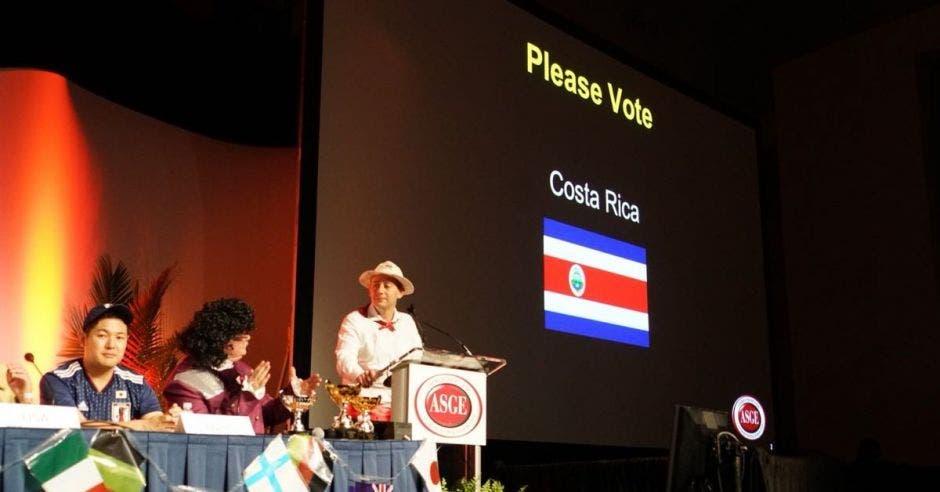 Caso tico ganó el quinto lugar en Congreso Mundial de Endoscopía