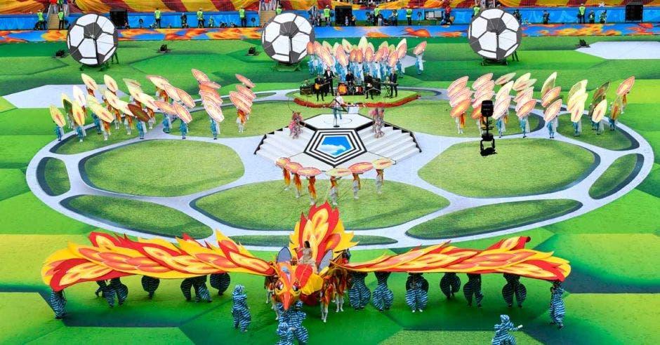 El Mundial de Rusia 2018 fue inaugurado el pasado jueves