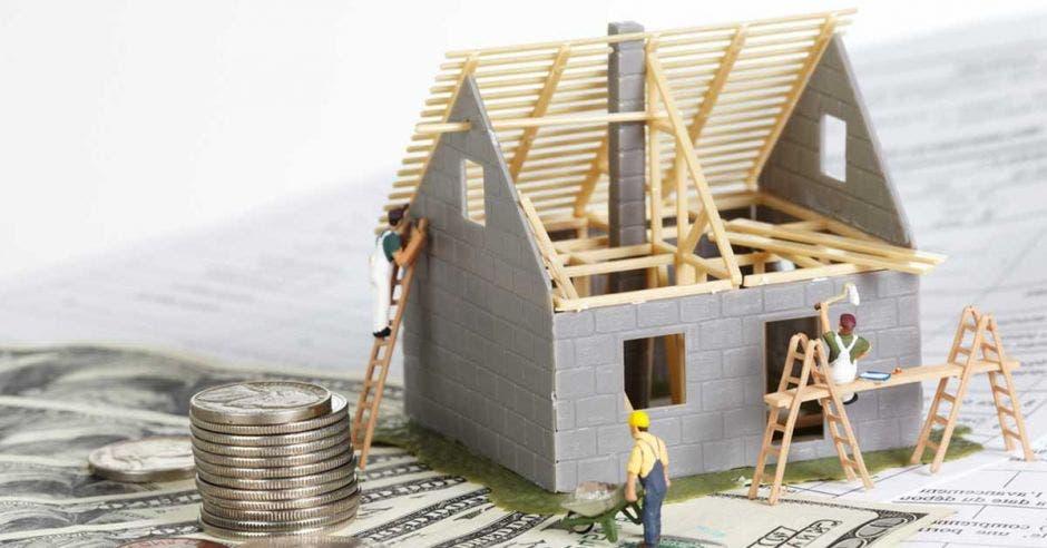 Caída en obras residenciales desploma construcción privada