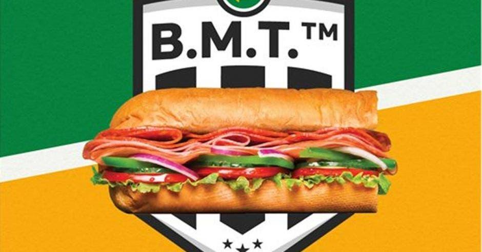 Sándwich de B.M.T.