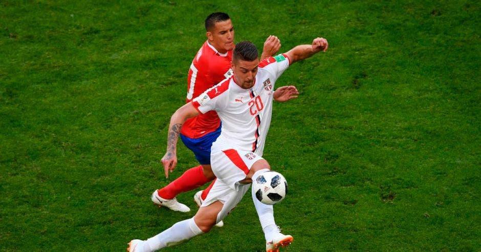 David Guzmán mostró un nivel muy bajo al acostumbrado ante Serbia.