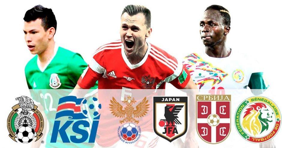 Hirving Lozano, Dénis Chéryshev y Sadio Mané han dado grandes actuaciones en el Mundial de Rusia.