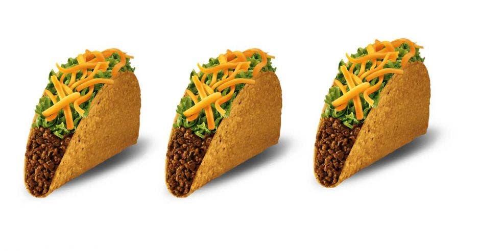 Taco Bell regalará tacos cuando se anote el primer gol de taquito del Mundial