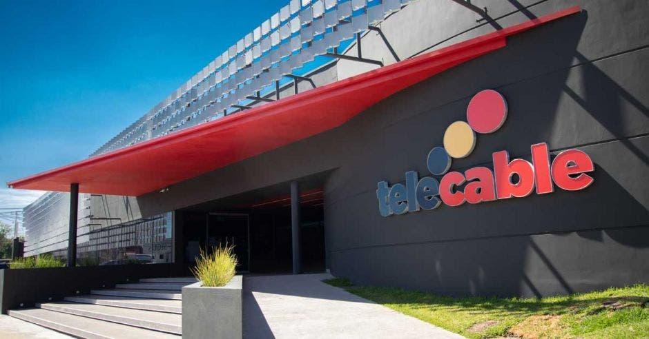 Plano amplio de las oficinas centrales de Telecable