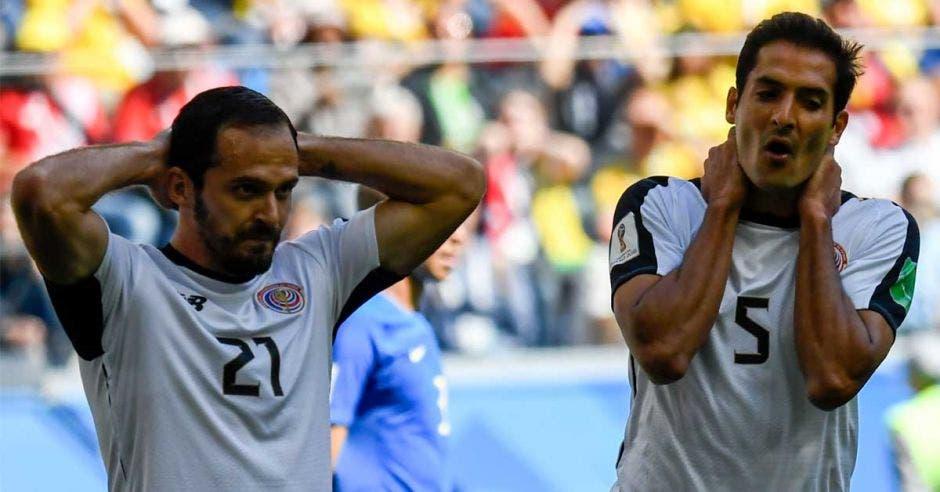 Marco Ureña y Celso Borges no han anotado con la Selección Nacional.