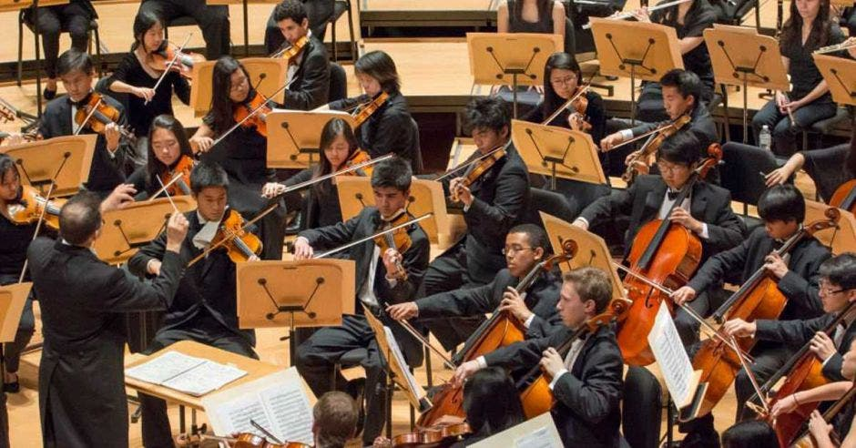 Foto de la Orquesta Juvenil de California, Pacific Symphony Santiago Strings
