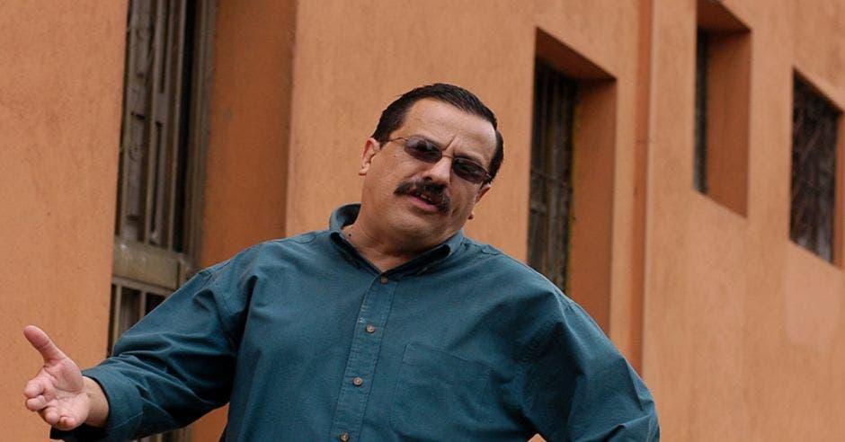Albino Vargas, líder sindical.  Archivo/La República.