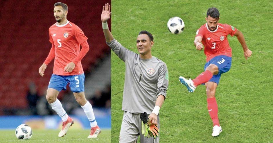 Keylor Navas, Giancarlo González y Celso Borges llegaron a clubes en ligas elite tras su participación en el Mundial.