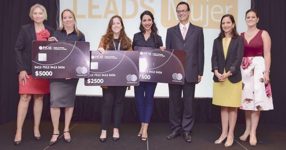 Ganadoras del Programa Leads Mujer 2018 de INCAE y Mastercard