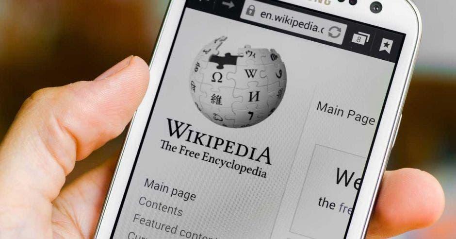 Wikipedia cierra temporalmente en señal de protesta