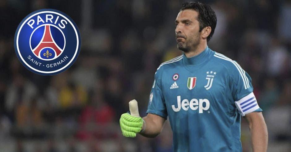 Gianluigi Buffon fue anunciado como nuevo portero del PSG