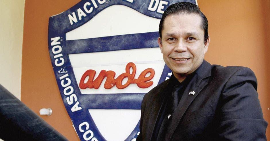 Gilberto Cascante, presidente Ande.
