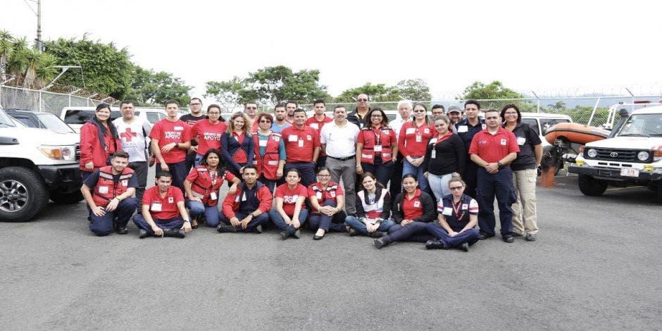 Cruz Roja formó personal en logística para atender emergencias