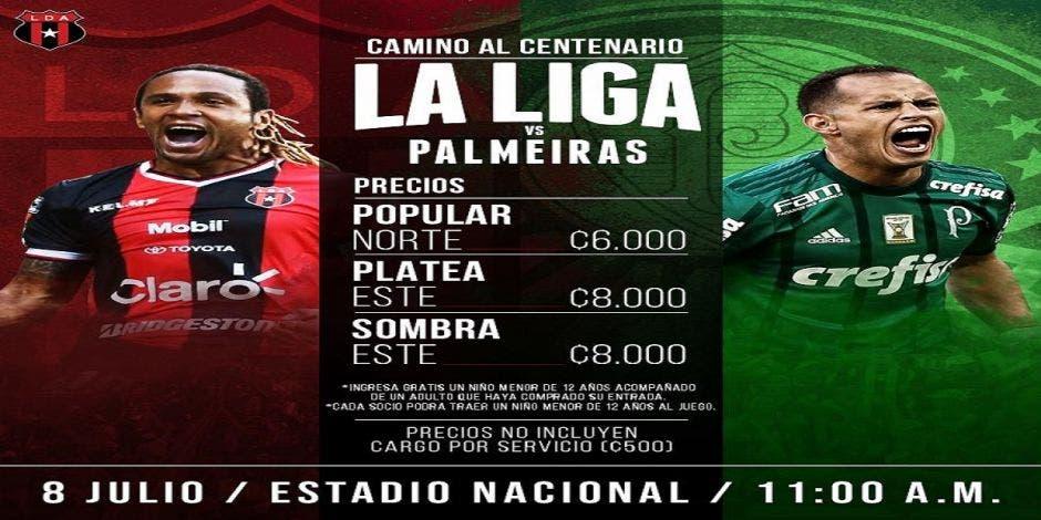La Liga se medirá hoy con el Palmeiras de Brasil