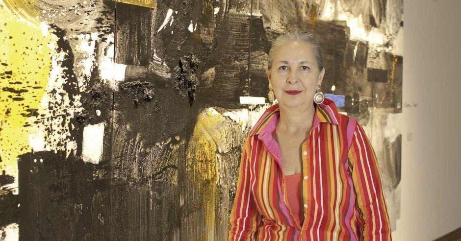 Artista costarricense Rossella Matamoros.