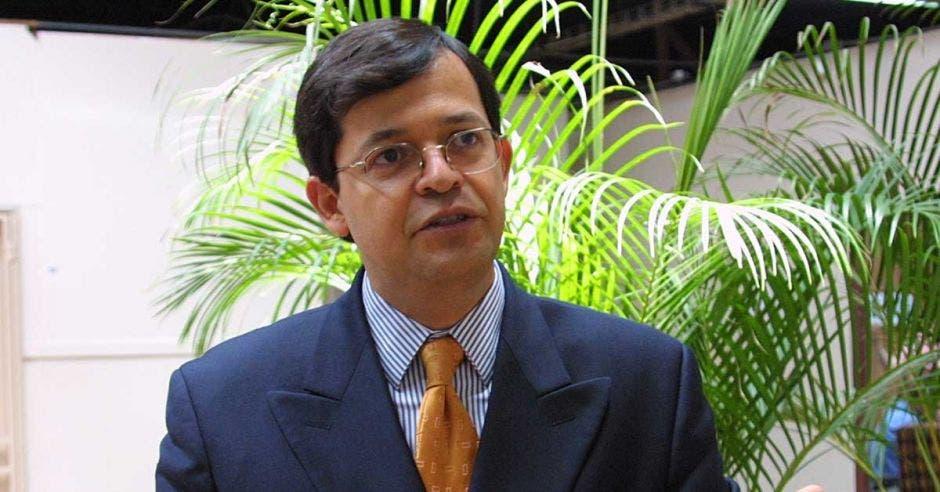 Carlos Chinchilla, presidente de la Corte Suprema de Justicia.