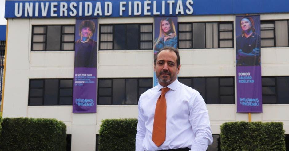 Mario Miño, vicepresidente de Operaciones de Fidélitas