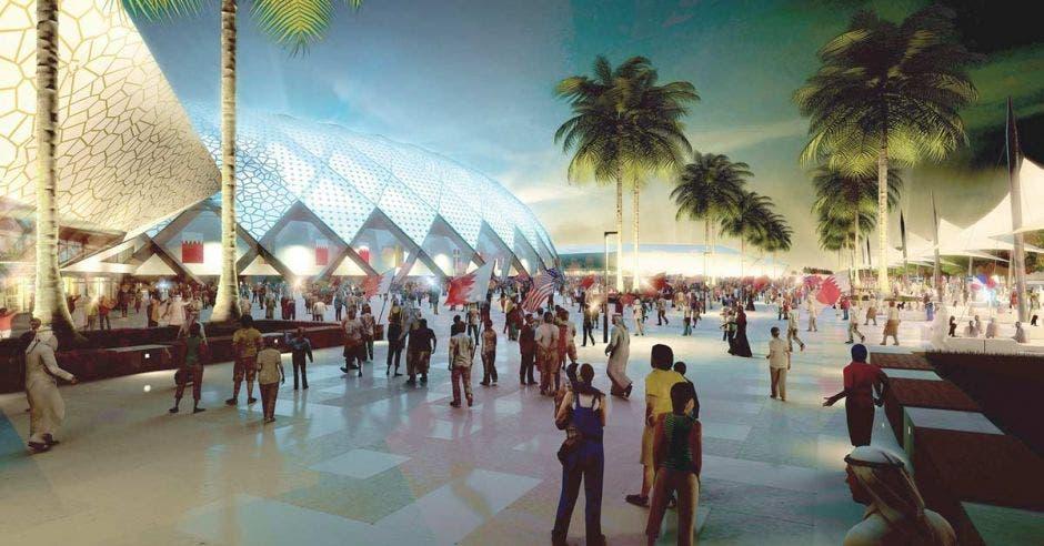El al-Wakrah Stadium tiene un costo de $286 millones