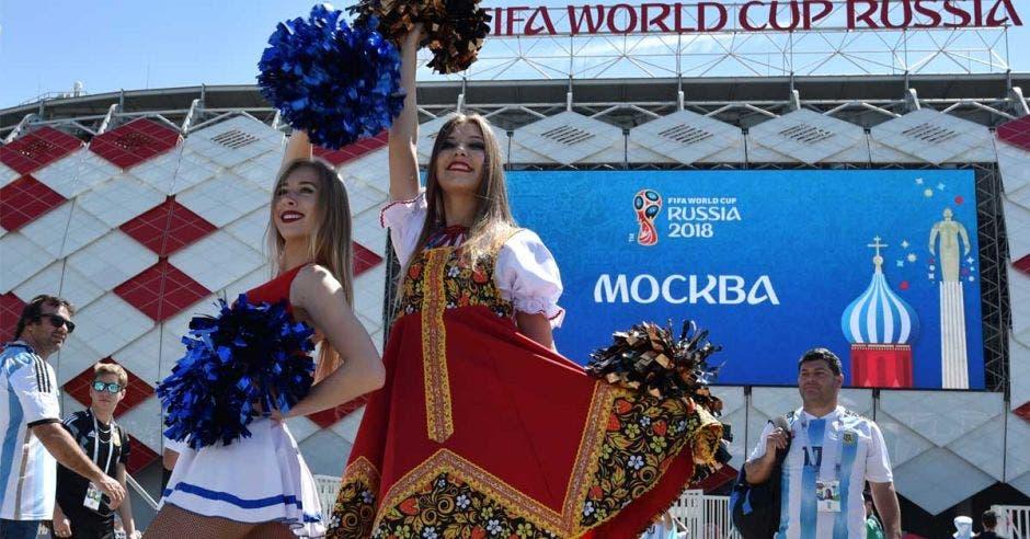 Mujeres rusas en Mundial