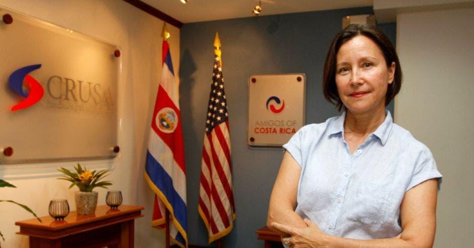 Michelle Coffey, delegada ejecutiva de Crusa