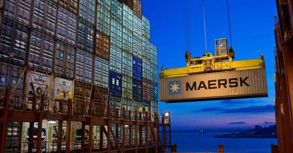 un container