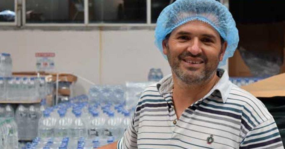 Roy Vargas, gerente general de la empresa.