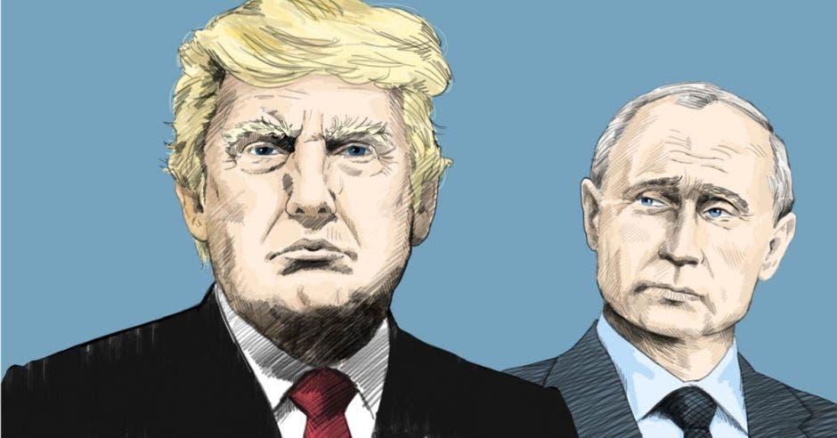 ¿Por qué ha sido tan controversial la reunión de Trump y Putin?