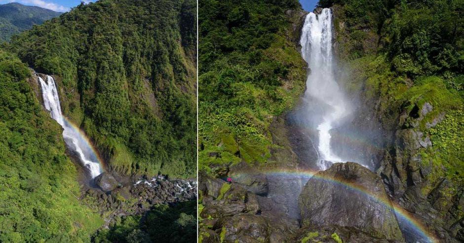 Proyecto tico busca atraer turismo a Talamanca con cataratas de arcoíris eternos