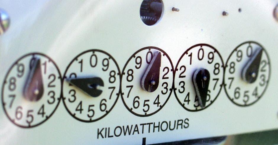medidores marcan consumo energético