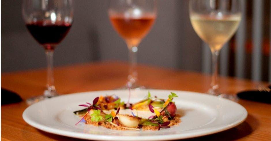 Restaurante Isolina: Nabos y remolachas asados