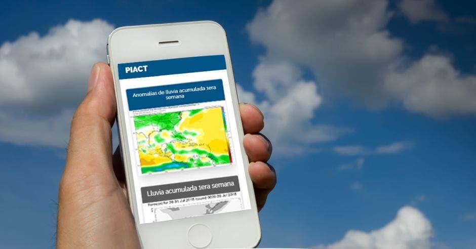 Imagen de PIACT en un celular