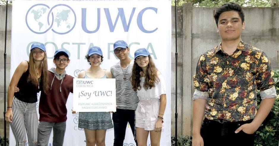 Estudiantes de UWC Costa Rica