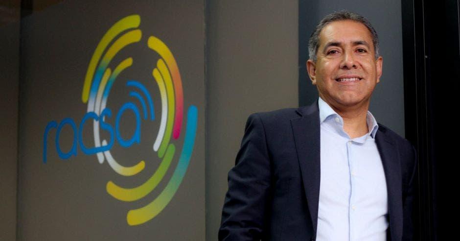 Francisco Calvo, gerente general de Racsa.