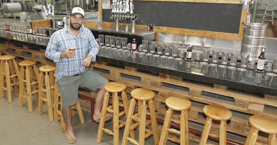 Ignacio Castro, co fundador de cervecería Treintaycinco.