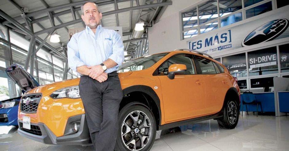Subaru ofrece nueva tecnología de frenado automático ante riesgo de colisión